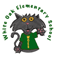 White Oak Elementary School  Logo