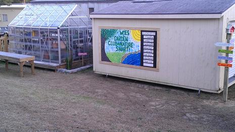 Greenhouse and Outdoor Classroom Area